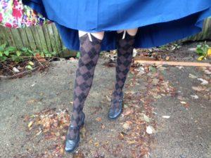 Voila, stockings.