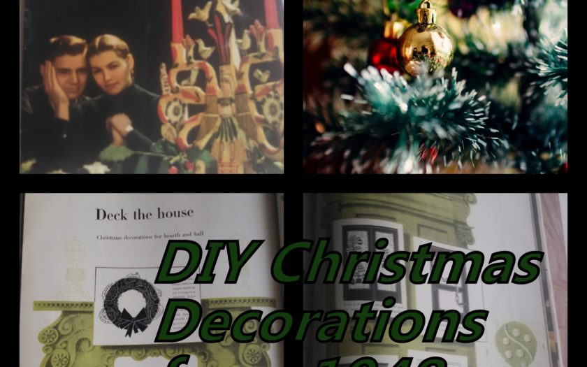 6 DIY Christmas Decorations From 1948 To Try (Plus 1 NOT To)
