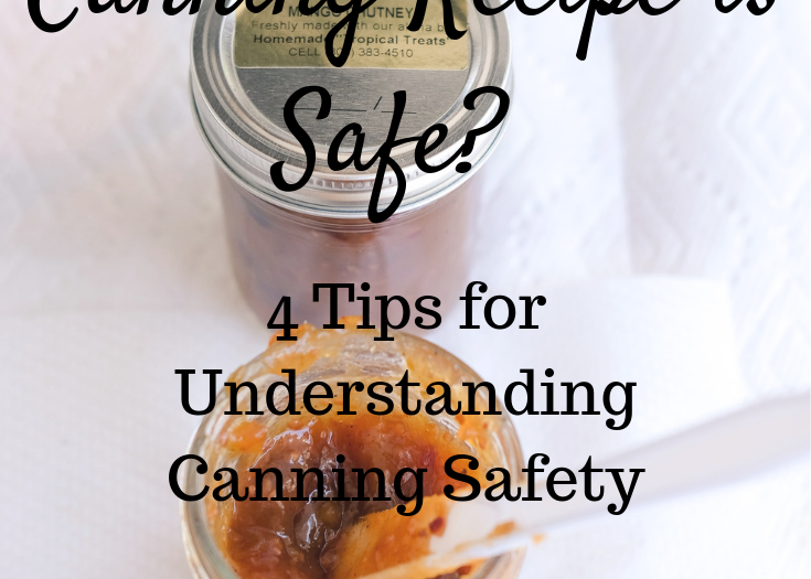 How Can I Tell If A Canning Recipe Is Safe To Use?