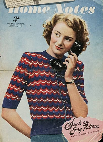 4 Fabulous 1940s Sweaters to Knit for Fall